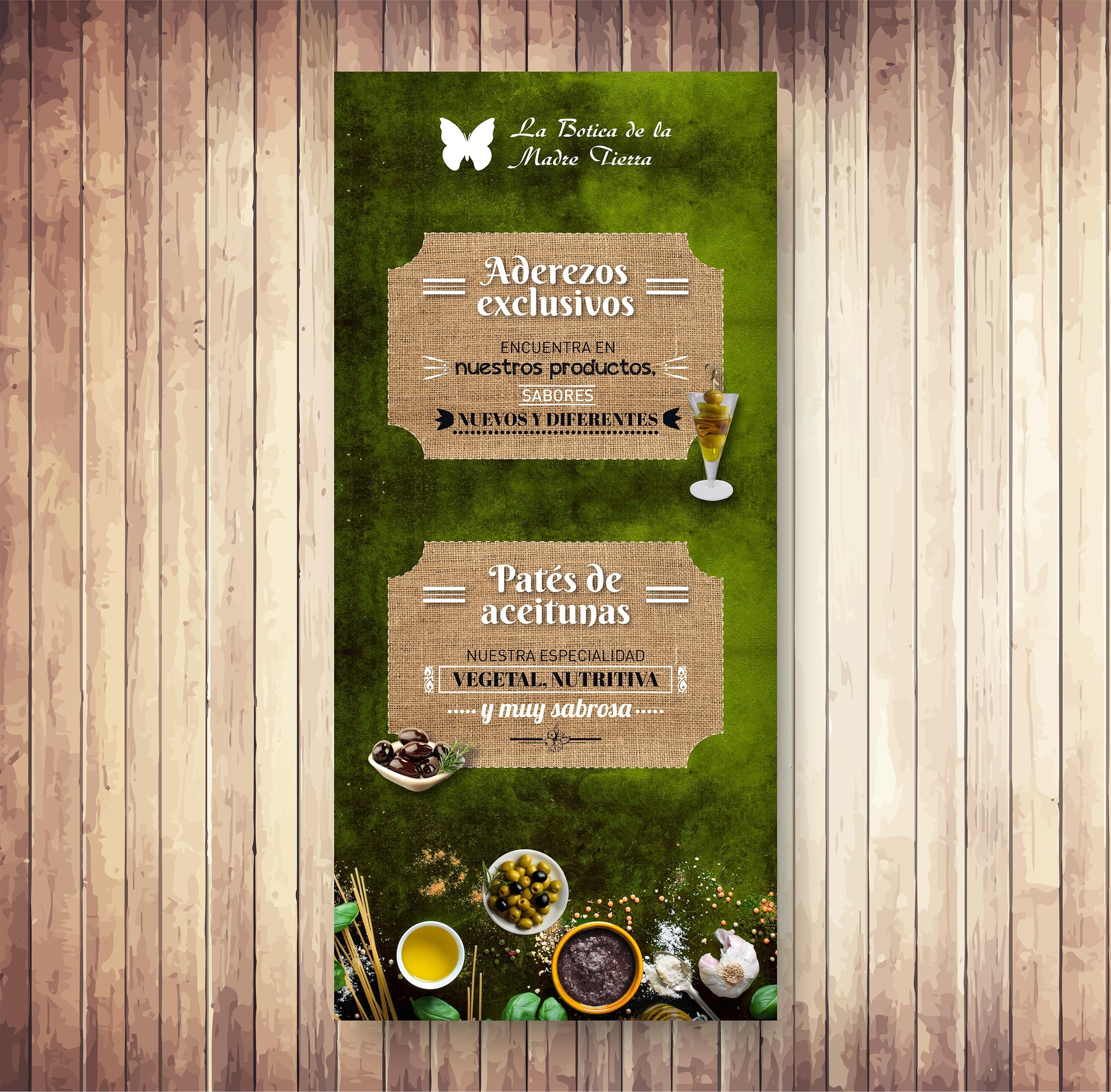 Cartel para cliente Botica de la Madre Tierra