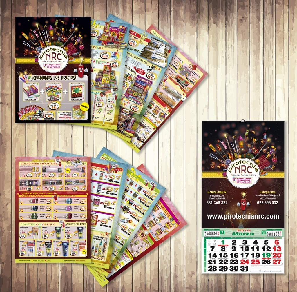 Catálogo y calendario