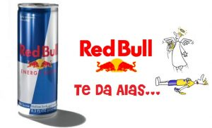 slogan RED BULL te da alas