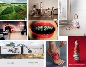 conjunto fotografias publicitarias
