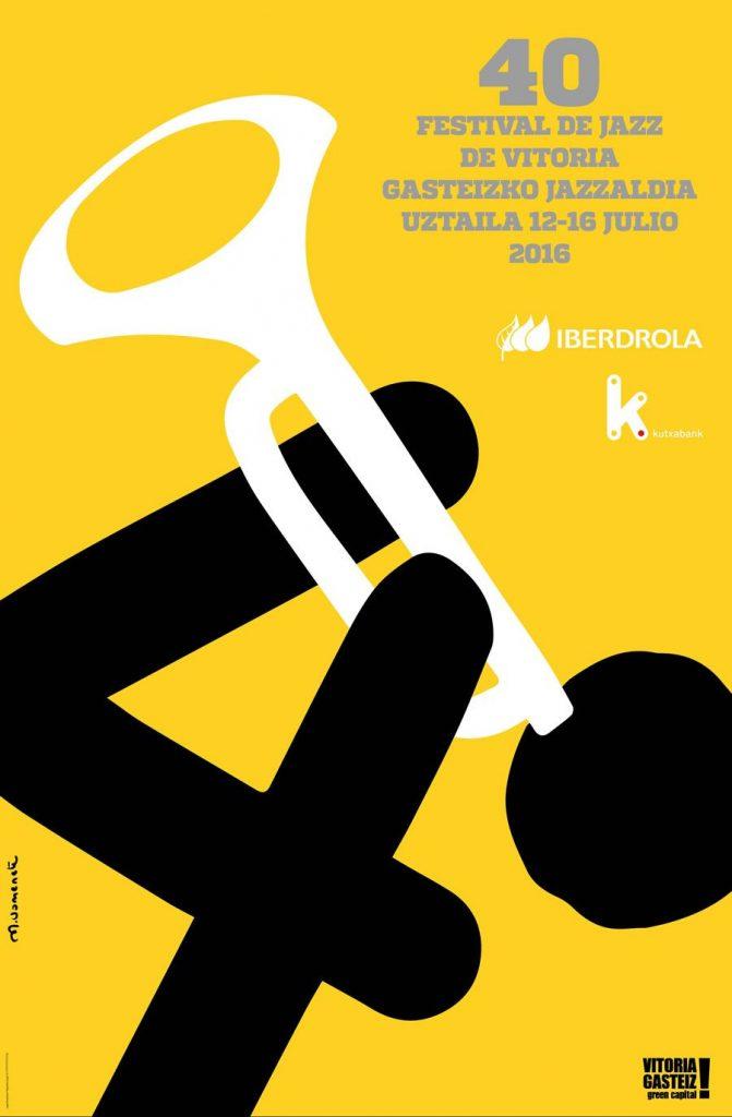 Cartel informativo semana del jazz vitoria