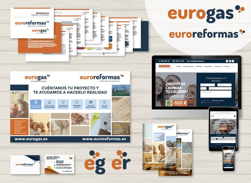 diseño web y diseño gráfico Eurogas