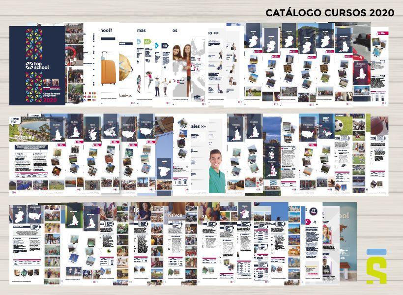 Top School: diseño de catálogo de cursos
