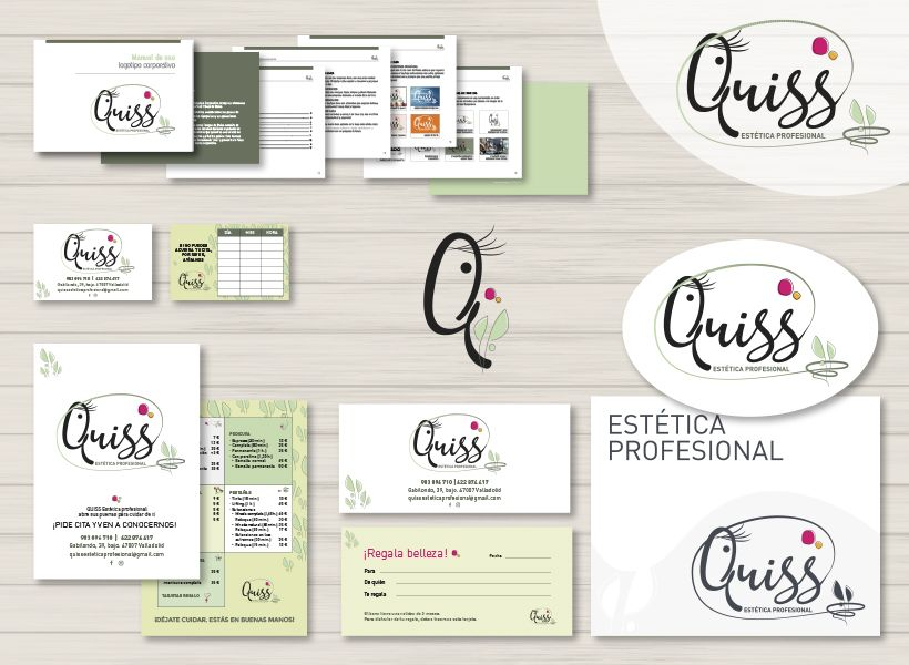 identidad corporativa Quiss