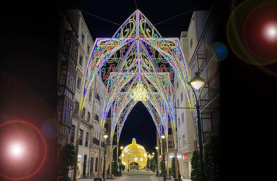 Las luces de Navidad