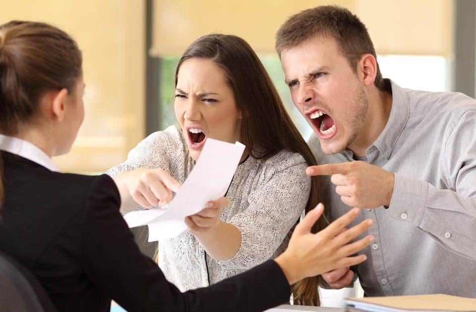 Conflicto con los clientes